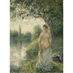 Puzzle  Grafika-02018 Pissarro Camille: The Bather, 1895