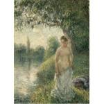 Puzzle  Grafika-02020 Pissarro Camille: The Bather, 1895