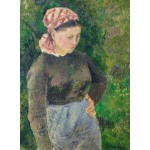 Puzzle  Grafika-02024 Camille Pissarro: Peasant Woman, 1880