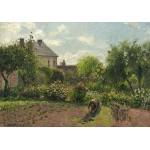 Puzzle  Grafika-02034 Camille Pissarro: The Artist's Garden at Eragny, 1898