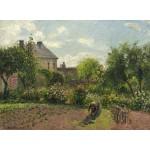 Puzzle  Grafika-02035 Camille Pissarro: The Artist's Garden at Eragny, 1898