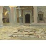 Puzzle  Grafika-02069 John Singer Sargent: Pavement, Cairo, 1891