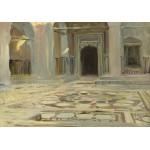 Puzzle  Grafika-02070 John Singer Sargent: Pavement, Cairo, 1891
