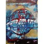 Puzzle  Grafika-02094 Owl