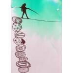 Puzzle  Grafika-02099 Woman Tightrope Walker