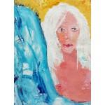 Puzzle  Grafika-02104 Girl with White Hair