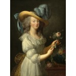 Puzzle  Grafika-02125 Elisabeth Vigée-Lebrun: Marie-Antoinette, 1783
