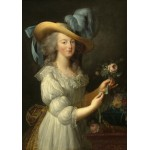 Puzzle  Grafika-02126 Elisabeth Vigée-Lebrun: Marie-Antoinette, 1783