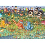 Puzzle  Grafika-02161 François Ruyer - Dinosaurs