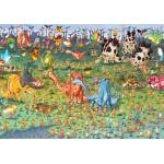 Puzzle  Grafika-02162 François Ruyer - Dinosaurs