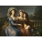 Puzzle  Grafika-02169 Louise-Élisabeth Vigee le Brun: The Marquise de Pezay, and the Marquise de Rougé with Her Sons Alexi