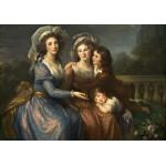 Puzzle  Grafika-02170 Louise-Élisabeth Vigee le Brun: The Marquise de Pezay, and the Marquise de Rougé with Her Sons Alexi