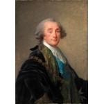 Puzzle  Grafika-02175 Élisabeth-Louise Vigee le Brun: Alexandre Charles Emmanuel de Crussol-Florensac, 1787