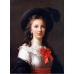 Puzzle  Grafika-02177 Louise-Élisabeth Vigee le Brun: selfportrait, 1781