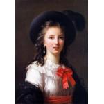 Puzzle  Grafika-02178 Louise-Élisabeth Vigee le Brun: selfportrait, 1781