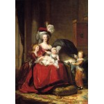Puzzle  Grafika-02180 Louise-Élisabeth Vigee le Brun: Marie Antoinette and her Children, 1787