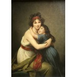 Puzzle  Grafika-02182 Elisabeth Vigée-Lebrun: Madame Vigée-Lebrun and her daughter, 1789