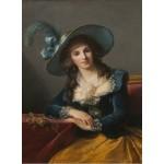Puzzle  Grafika-02186 Louise-Élisabeth Vigee le Brun: Comtesse de Segur, 1785
