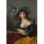 Puzzle  Grafika-02187 Louise-Élisabeth Vigee le Brun: Comtesse de Segur, 1785