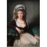 Puzzle  Grafika-02190 Louise-Élisabeth Vigee le Brun: Madame d'Aguesseau de Fresnes, 1789