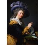 Puzzle  Grafika-02194 Louise-Élisabeth Vigee le Brun: Comtesse de Cérès, 1784