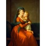 Puzzle  Grafika-02195 Louise-Élisabeth Vigee le Brun: Princess Alexandra Golitsyna and her son Piotr, 1794