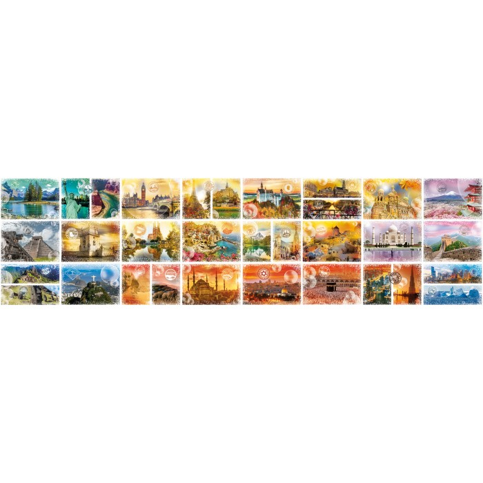 The new biggest Puzzle in the World: Travel around the World