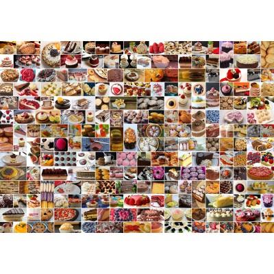 Puzzle Grafika-02206 Collage - Cakes