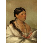Puzzle  Grafika-02232 George Catlin: The Female Eagle - Shawano, 1830