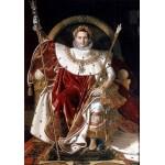 Puzzle  Grafika-02253 Jean-Auguste-Dominique Ingres: Napoléon on the Imperial Throne, 1806