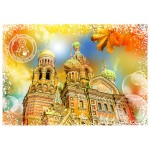 Puzzle  Grafika-02280 Travel around the World - Russia
