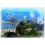 Puzzle  Grafika-02287 Travel around the World - Brazil