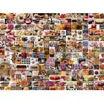 Puzzle  Grafika-02311 Collage - Cakes