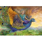 Puzzle  Grafika-02313 Josephine Wall - Peacock Princess