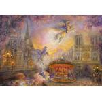 Puzzle  Grafika-02315 Josephine Wall - Magical Merry Go Round