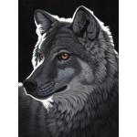 Puzzle  Grafika-02427 Schim Schimmel - Night Wolf