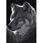 Puzzle  Grafika-02428 Schim Schimmel - Night Wolf