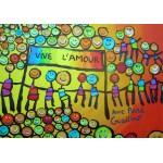 Puzzle  Grafika-02433 Anne Poiré & Patrick Guallino - Vive l'Amour
