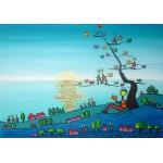 Puzzle  Grafika-02437 Anne Poiré & Patrick Guallino - Soleil sur Livres