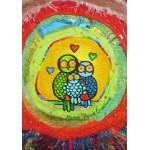 Puzzle  Grafika-02448 Anne Poiré & Patrick Guallino - Le Nid Porte-bonheur
