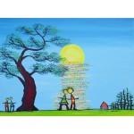Puzzle  Grafika-02459 Anne Poiré & Patrick Guallino - Ecrit dans le Ciel
