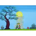 Puzzle  Grafika-02460 Anne Poiré & Patrick Guallino - Ecrit dans le Ciel