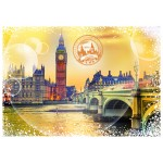Puzzle  Grafika-02474 Travel around the World - United Kingdom