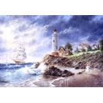 Puzzle  Grafika-02494 Dennis Lewan - Anchor Cove