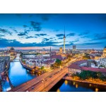 Puzzle  Grafika-02504 Deutschland Edition - Berlin Skyline In Twilight