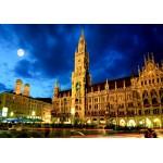 Puzzle  Grafika-02519 Deutschland Edition - München, Rathaus