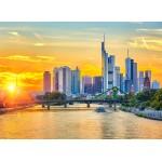 Puzzle  Grafika-02527 Deutschland Edition - Frankfurt am Main, Bankenviertel
