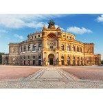 Puzzle  Grafika-02540 Deutschland Edition - Dresden, Opera House Semperoper