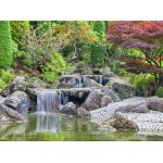 Puzzle  Grafika-02547 Deutschland Edition - Waterfall At Japanese Garden, Bonn