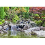 Puzzle  Grafika-02548 Deutschland Edition - Waterfall At Japanese Garden, Bonn